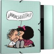 GRAFOPLAS 82401973. Pack 2 carpetas con solapas Mafalda Muak