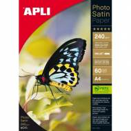APLI 10414. Papel fotográfico Ink Photo SA. 240 GR. 60 H