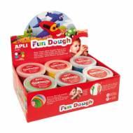 APLI 13450. 12 botes plastilina mágica Fun Dough de colores