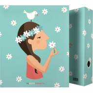 GRAFOPLAS 88171945. Pack 2 carpetas de anillas 40 mm. A4 Tutti Confetti Live
