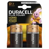 DURACELL LR20. Pilas alcalinas D PLUS LR20 - MN 1300. Blister 2