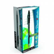 PAPER MATE Caja 30+6 bolígrafos Flexgrip Ultra retráctil. Trazo 0,4 mm. Color negro - 1910073