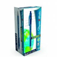 PAPER MATE Caja 30+6 bolígrafos Flexgrip Ultra retráctil. Trazo 0,4 mm. Color azul - 1910074