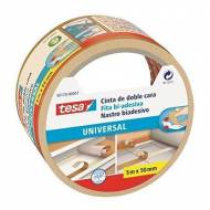 TESA Cinta adhesiva  doble cara Universal, 50 mm x 5 m. - 56170-00007-00