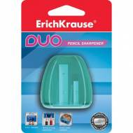 ErichKrause 37394. Sacapuntas de plástico Duo con recipiente virutas