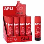 APLI 12146. Barra de cola adhesiva de uso escolar (21 gr.)