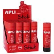 APLI 12147. Barra de cola adhesiva de uso escolar (40 gr.)
