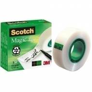 Scotch Magic 810-1933  Cinta adhesiva invisible, 19 mm. x 33 m. Caja individual