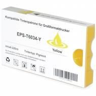 Iberjet EPS-T6034-Y Cartucho de tinta amarillo, reemplaza a Epson C13T603400