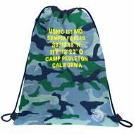 GRAFOPLAS 37610524. Mochila saco con cuerdas Master & Commander Azul