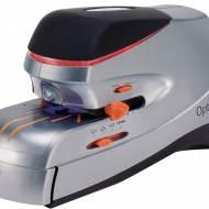REXEL 2102355 Grapadora eléctrica Optima 70. Color negro/plata