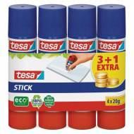 TESA Lote 3+1 de pegamentos de barra ECO Stick, 20 gr. - 948867