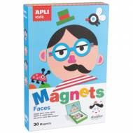 APLI 14561. Juego magnético Caras