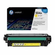 HP 504A - Toner Laser original Nº 504 A Amarillo - CE252A
