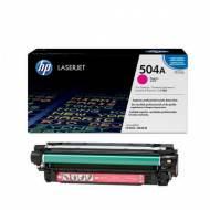HP 504A - Toner Laser original Nº 504 A Magenta - CE253A