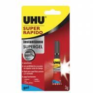 UHU® Super Rápido Gel. (3 gr.) - 36547