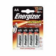 ENERGIZER Pack 4 pilas alcalinas Ultra+ LR6 (AA) - 636921