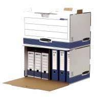 Fellowes 0029901. Contenedor de archivos acceso frontal azul