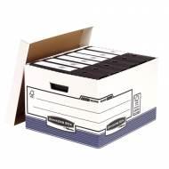 Fellowes 0030901. Contenedor de archivos tamaño folio azul