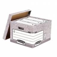 Fellowes 01810-FFEU. Contenedor de archivos tamaño folio gris