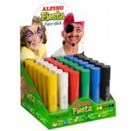 ALPINO DL000075. Expositor 36 barras de maquillaje colores clásicos