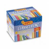 JOVI Tizas antipolvo. Caja 100 ud. de colores surtidos - 152692