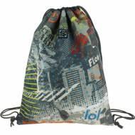 GRAFOPLAS 37610562. Mochila saco con cuerdas Diverse City