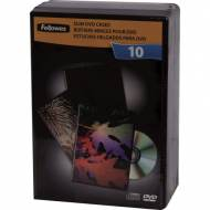 Fellowes 9830201. Pack de 10 cajas DVD Slim