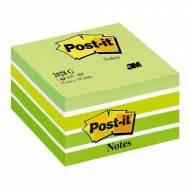 POST-IT Cubo notas adhesivas 450h. Verde pastel 76x76mm - FT510093238
