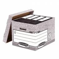 Fellowes 00810-FFEU. Contenedor de archivos gris