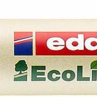 Edding 22003. EcoLine azul. Marcador permanente con punta biselada