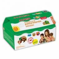 ALPINO DP000129. Kit pasta blanda Dough, 6 botes con accesorios