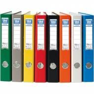 Unipapel 092366. Pack 6 archivadores de palanca A4 de 45 mm. Color verde