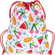 GRAFOPLAS 37610570. Mochila saco con cuerdas Elena Corredoira Frutas