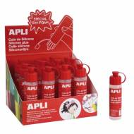 APLI 14772. Bote de cola silicona líquida (25 ml.)
