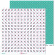 GRAFOPLAS 37019701. Papeles scrapbooking (Flor cruz) colección Mosaico