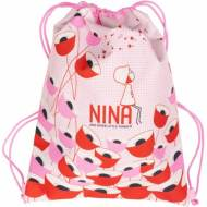 GRAFOPLAS 37610574. Mochila saco con cuerdas Nina Poppy