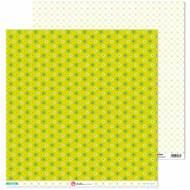 GRAFOPLAS 37019702. Papeles scrapbooking (Margaritas) colección Mosaico