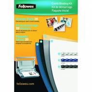 Fellowes 5371801. Kit de encuadernación Premium canutillo