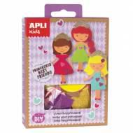 APLI 14713. Mini kit manualidades Princesas Best Friends