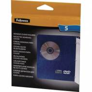 Fellowes 98315. Pack de 5 fundas adhesivas CDS