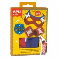 APLI 14715. Mini kit manualidades Superhéroe Trueno