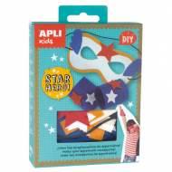 APLI 14717. Mini kit manualidades Superhéroe Estrella