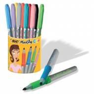 BIC Marcador Marking Color Cubilete 9+1. Trazo 1.1 mm. Colores surtidos - 896018