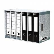 Fellowes 01880EU. Clasificador de archivadores gris
