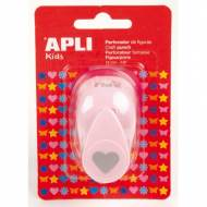APLI 13068. Perforadora de papel figura Corazón (16 mm.)