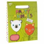 APLI 14837. Kit manualidades Globos Party Animales
