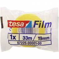 TESA Film standard. Cinta  adhesiva 19 mm x 33 m. - Bolsa individual - 57225-00001-00