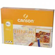 GUARRO CANSON Caja de 250 hojas de dibujo Basik A4, 130 gr. - 200401405