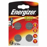 ENERGIZER Pack 4 pilas CR2032 - 637762